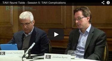 Session 5: TAVI Complications