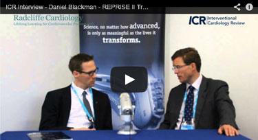 ICR Interview - Daniel Blackman - REPRISE II Trial - May 21st 2014 (EuroPCR 2014)